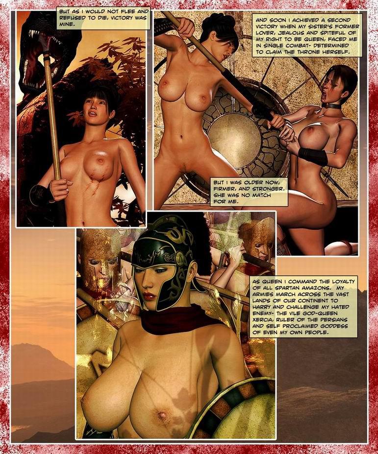 Порно амазонка королева