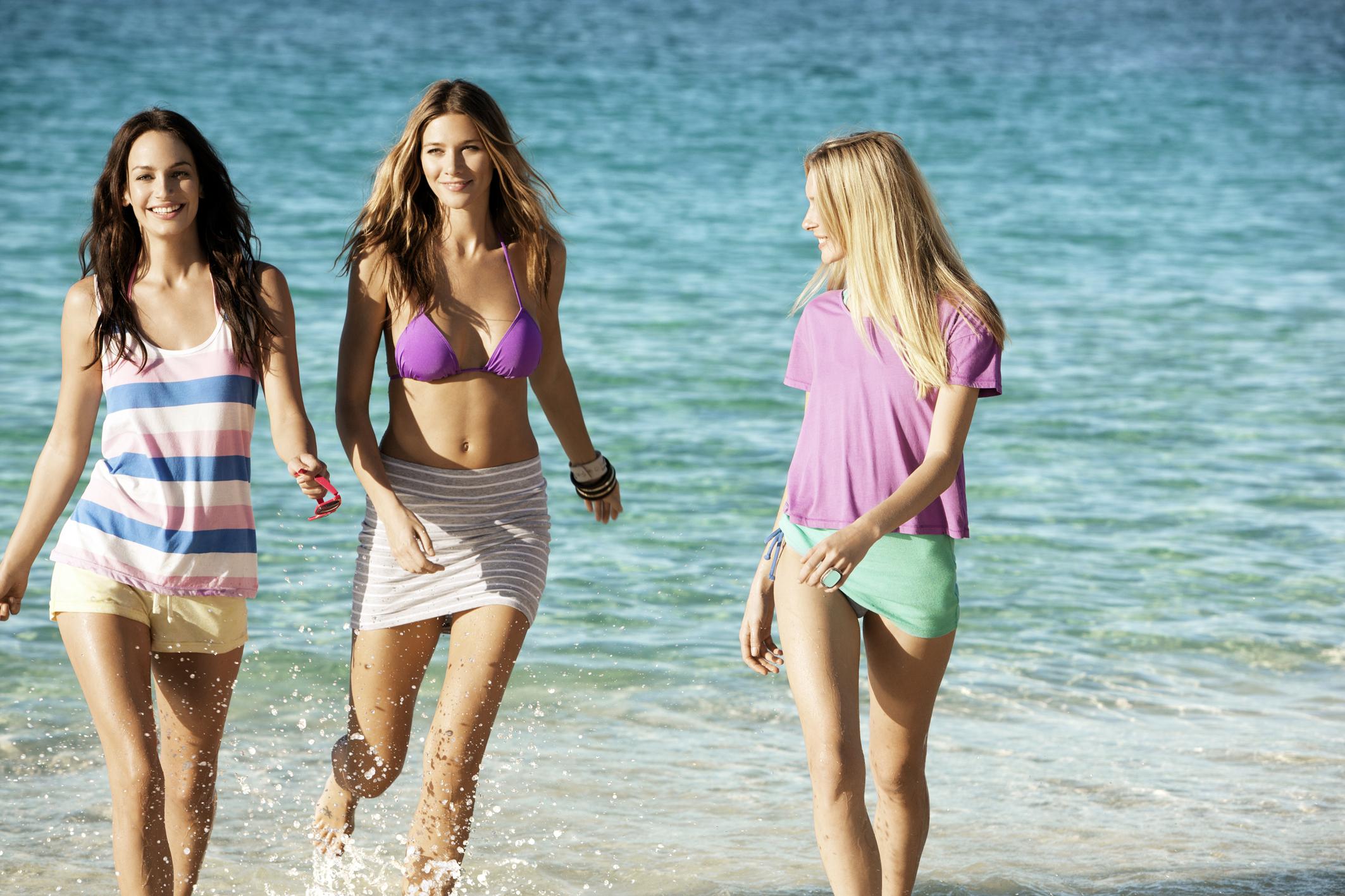 Солнце пляж девушки 11 фотография