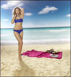 Керстин Кука, фото 11. Kerstin Cook Beldona Summer 2011 SwimWear Ad Campaign, foto 11
